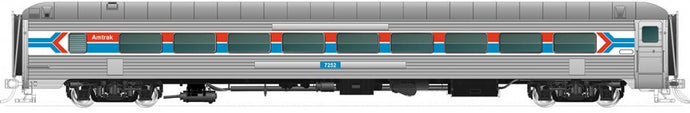 RAPIDO TRAINS #017146 - HO-Scale - 72-Seat Coach - Amtrak #7256 - [IN STOCK]