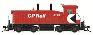 "RAPIDO TRAINS #026521 - HO - SW1200RS - CPRail - No Number [5"" Stripes, Cab MM] - DCC & Sound - [IN STOCK]"