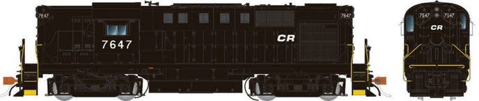 RAPIDO TRAINS #031005 - Alco RS-11 - HO-Scale - Conrail #7647 - DCC-Ready - [Click on the picture]