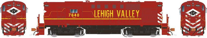 RAPIDO TRAINS #031551 - HO - Alco RS-11 -Lehigh Valley #7640 - DCC & Sound - [RESERVE for Delivery in September 2019] - [$0 to Reserve - $359.95 on Delivery] [*** 19-041]