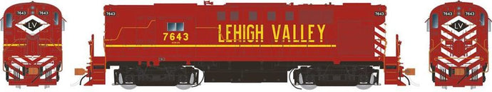 RAPIDO TRAINS #031052 - HO - Alco RS-11 -Lehigh Valley #7643 - DCC-Ready - [RESERVE for Delivery in September 2019] - [$0 to Reserve - $249.95 on Delivery] [*** 19-041]