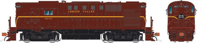 RAPIDO TRAINS #031507 - Alco RS-11 - HO-Scale - Lehigh Valley #8641 - DCC & Sound - [Click on the picture]