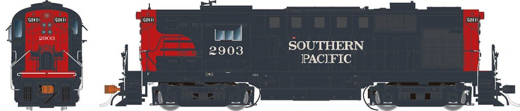 RAPIDO TRAINS #031541 - Alco RS-11 - HO-Scale - Southern Pacific #2903 [Bloody Nose] - DCC & Sound - [Click on the picture]