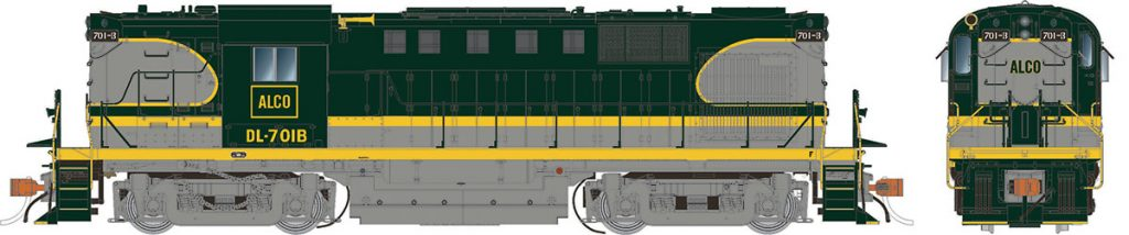 RAPIDO TRAINS #31045 - HO - Alco RS-11 - Demonstrator #DL-701B - DCC-Ready - [RESERVE for Delivery in September 2019] - [$0 to Reserve - $249.95 CAD on Delivery]