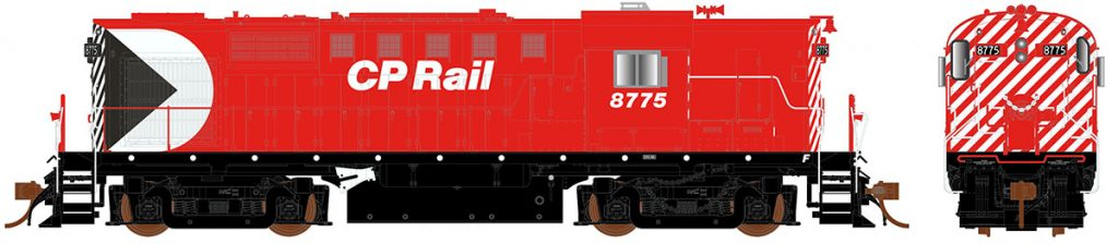 RAPIDO TRAINS #032540 - MLW RS-18 - Class  DRS-18b - With DCC and Lok-Sound - HO - CPRail #8760 -  8