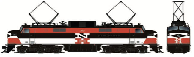 RAPIDO TRAINS #084504 - HO - EP-5 - New Haven #370 - DCC & Sound - [RESERVE for Delivery in December 2019] - [$0 to Reserve - $459.95 CAD on Delivery] [*** 19-043]