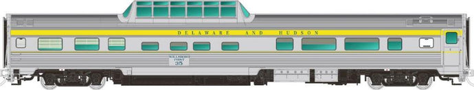 *RAPIDO TRAINS #116023 - Mid-Train Dome - Delaware & Hudson - Bluff Point - [IN STOCK]