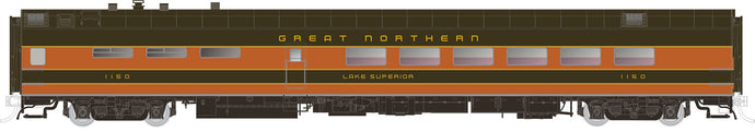 RAPIDO TRAINS #124022 to #124024 - HO - Lightweight Dining Cars - Great Northern - [Click on picture]