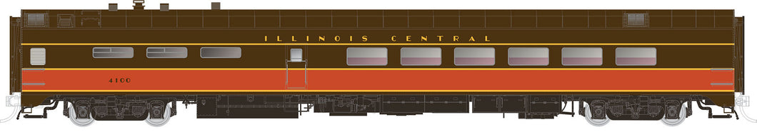 RAPIDO TRAINS #124026 - HO - PS Lightweight Diner - Illinois Central #4101 - [RESERVE for Delivery in July 2019] - [$0 to Reserve - CAD $129.95 -15% on Delivery]