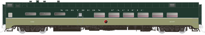 RAPIDO TRAINS #124046 to #124048 - HO - Lightweight Dining Cars - Northern Pacific - [RESERVE for Delivery in July 2019] - [$0 to Reserve - $129.95 on Delivery]