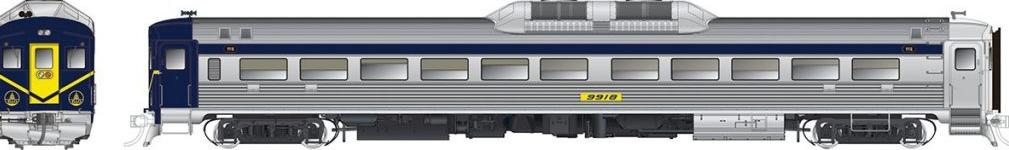 *RAPIDO TRAINS #016604 - HO - RDC-1 Phase 1b - DCC & Sound - Baltimore & Ohio #9918 [IN STOCK]
