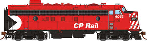 "RAPIDO TRAINS #222519 - HO - FP7 - CPRail #4035 - [8"" Stripes] - DCC & Sound - [RESERVE for Delivery in Early 2019] - [$0 to Reserve - CAD $359.95 on Delivery - Reservations are closed at Rapido - No discount]"
