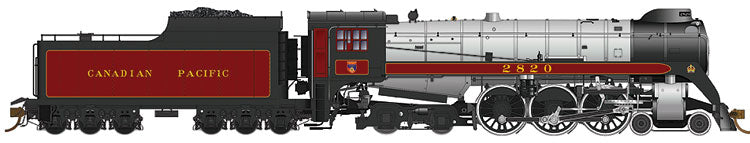 RAPIDO TRAINS #600003 - Royal Hudson - H1c Class - Canadian Pacific #2829 - DCC-Ready, Oil tender, Commonwealth trucks, Bathtub stack - [RESERVE for Delivery in May 2019] - [$0 to Reserve - CAD $599.95 -15% on Delivery]