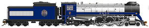 RAPIDO TRAINS #600090 - Royal Hudson - H1d Class - 1939 Royal Train #2850 - DCC-Ready, With Coal tender, Commonwealth trucks, Teardrop stack