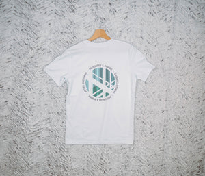 T-shirt Unicité White - Exoed Clothing