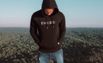 Hoodie Mirror Black - Exoed Clothing