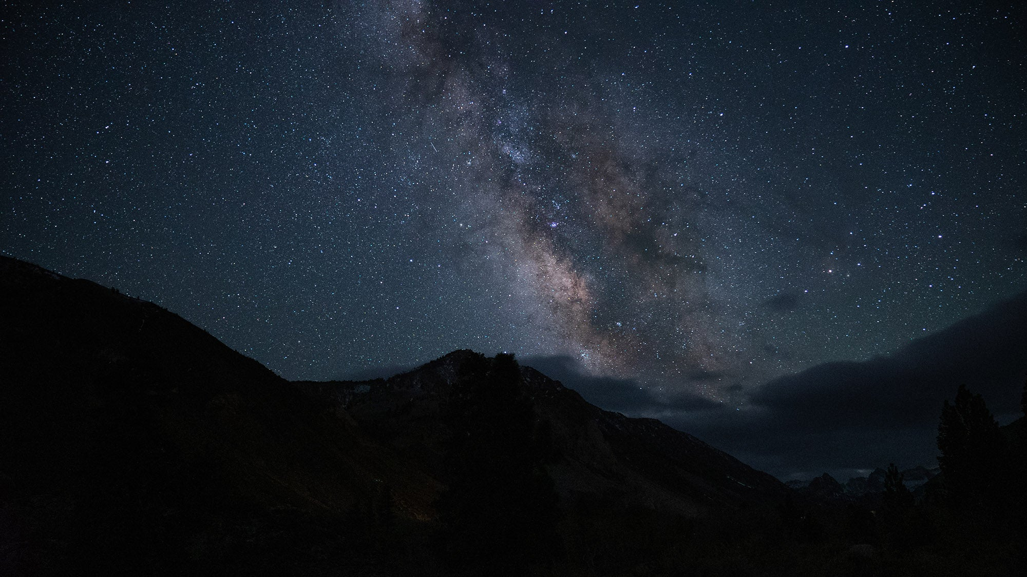 The Milky Way Galaxy above camp