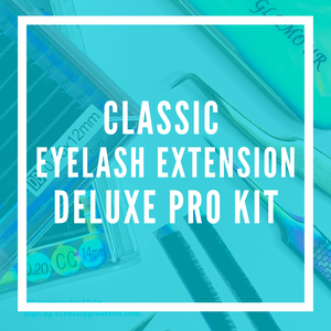 Classic Eyelash Extension Deluxe Pro Kit