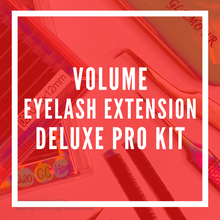 Load image into Gallery viewer, Volume Eyelash Extension Deluxe Pro Kit