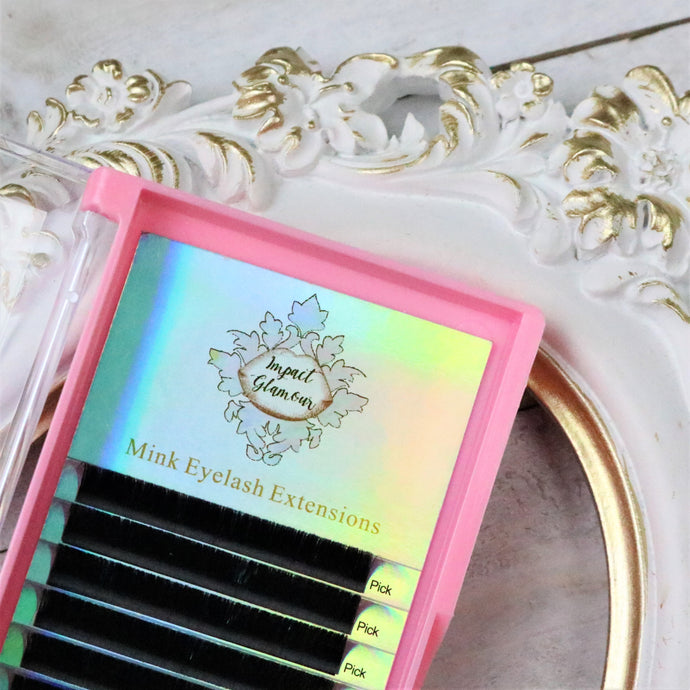 Matte Perfection Volume Eyelash Extensions - 0.05 Single Size Trays