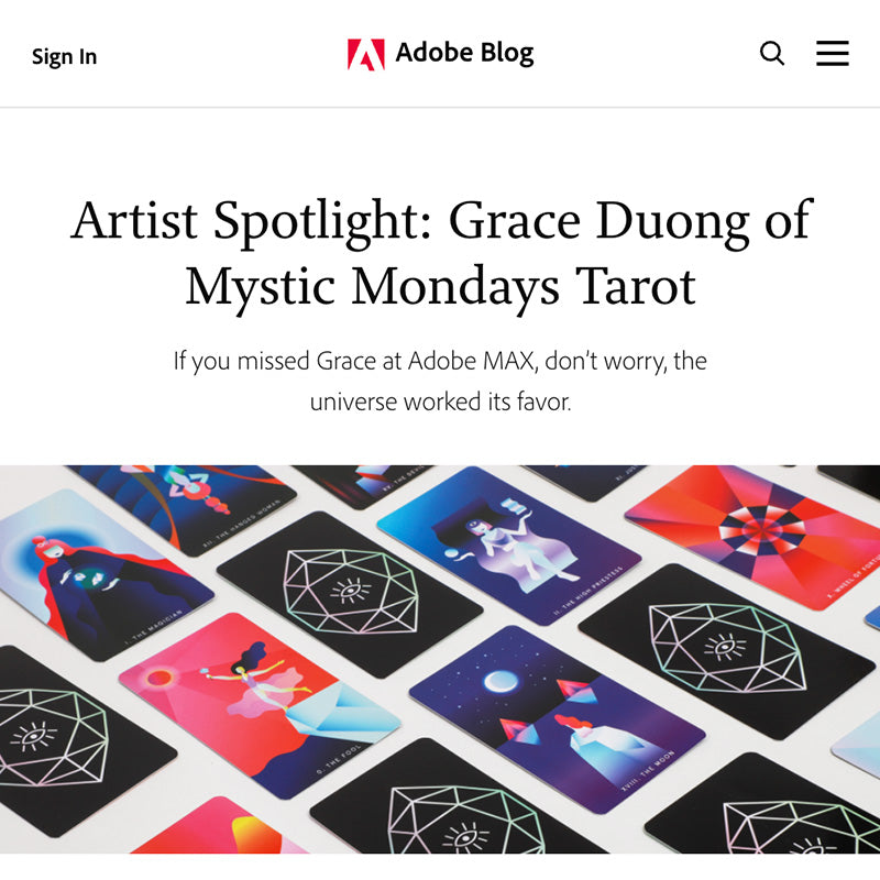 Artist Spotlight: Grace Duong of Mystic Mondays Tarot