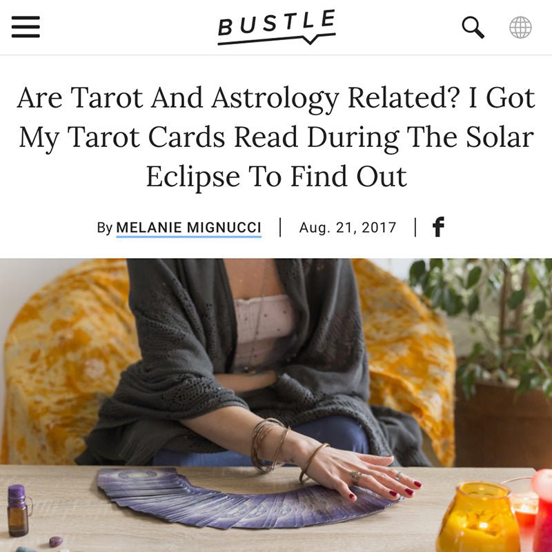 Are Tarot And Astrology Related? I Got My Tarot Cards Read During The Solar Eclipse To Find Out