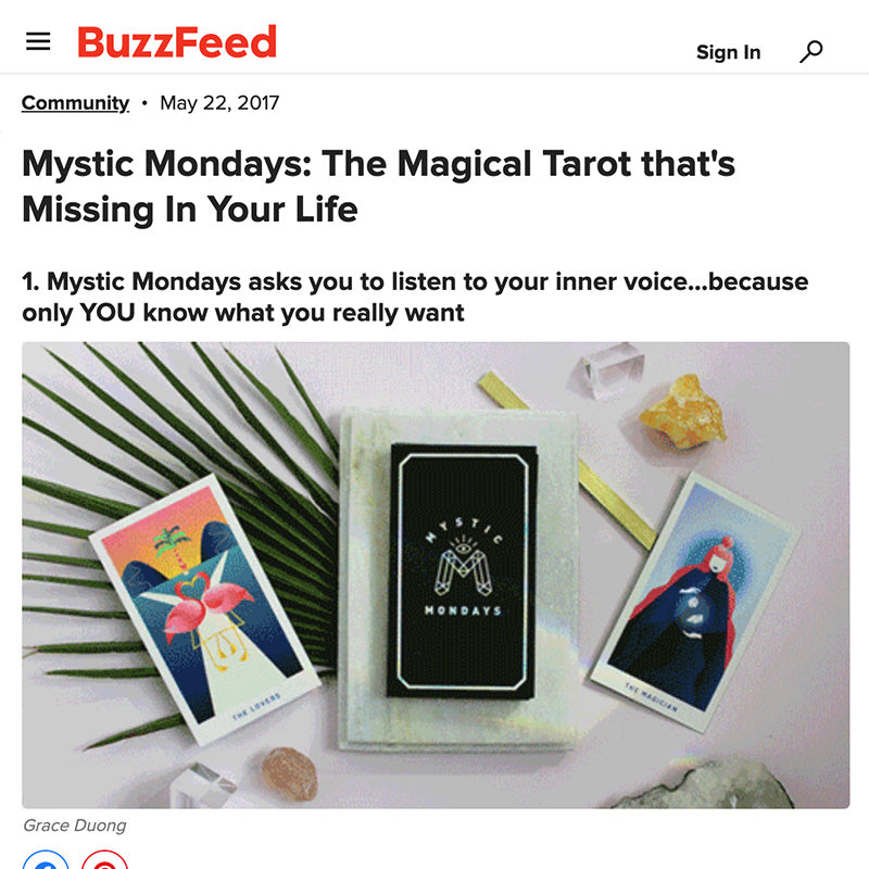 Mystic Mondays: The Magical Tarot that's Missing In Your Life