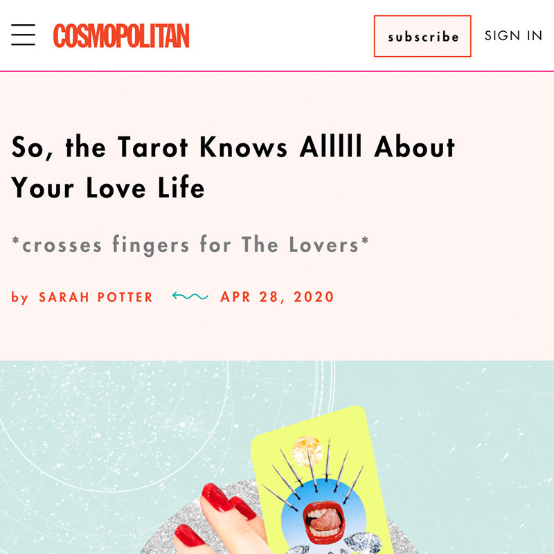 So, the Tarot Knows Alllll About Your Love Life
