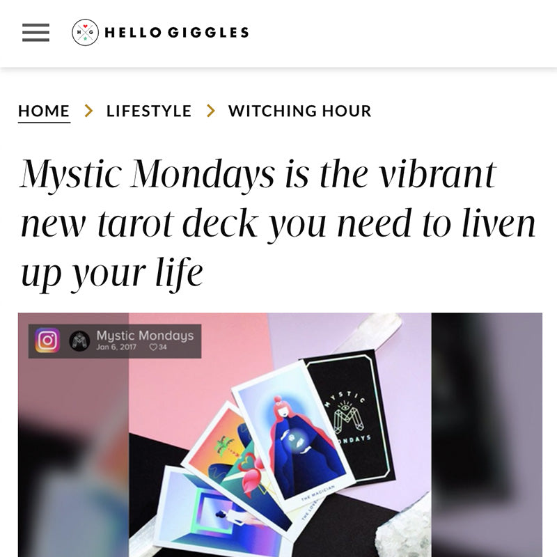 Mystic Mondays is the vibrant new tarot deck you need to liven up your life