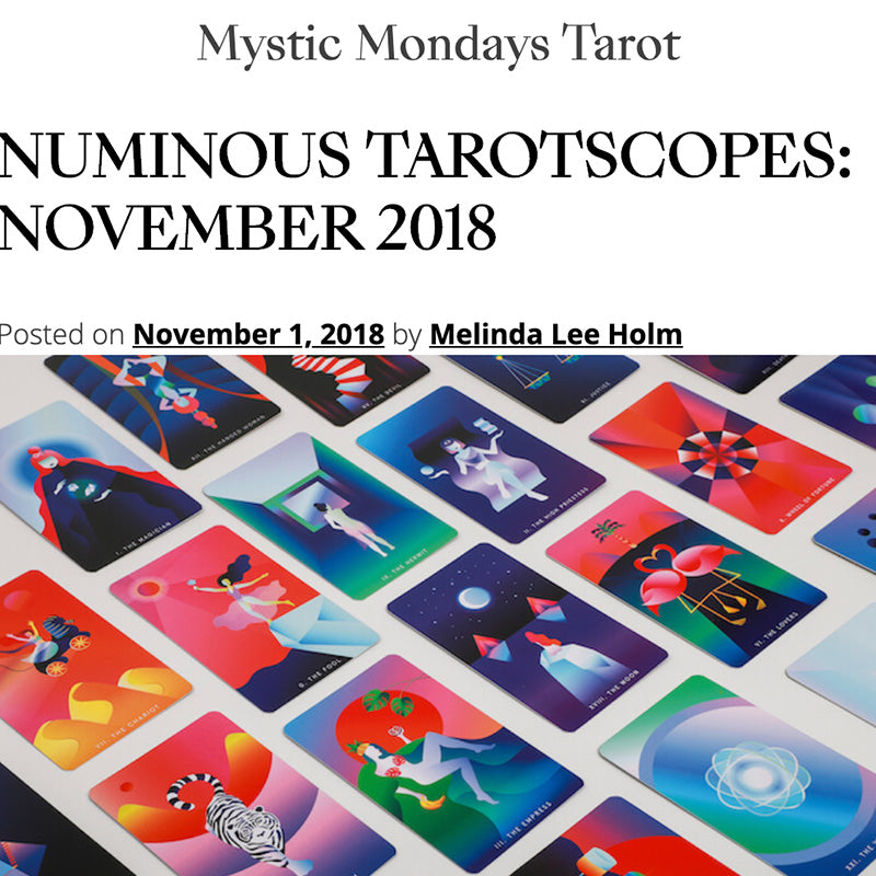 NUMINOUS TAROTSCOPES: NOVEMBER 2018