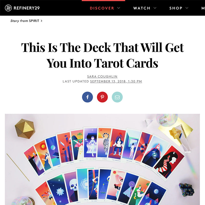 This Is The Deck That Will Get You Into Tarot Cards