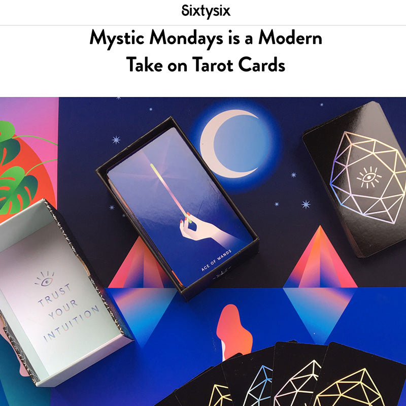 Mystic Mondays is a Modern Take on Tarot Cards