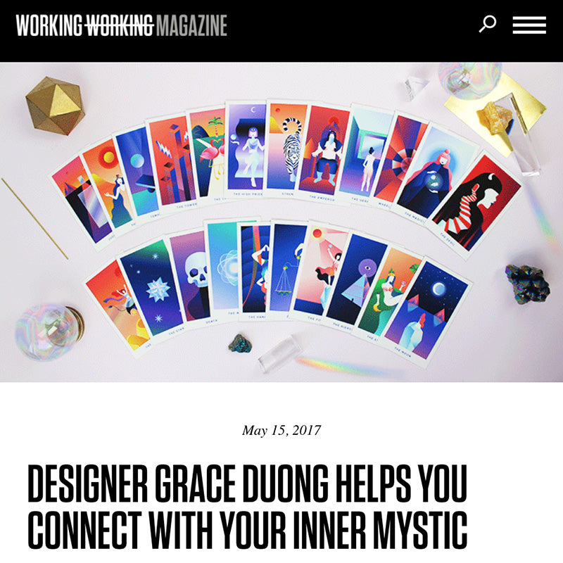 DESIGNER GRACE DUONG HELPS YOU CONNECT WITH YOUR INNER MYSTIC