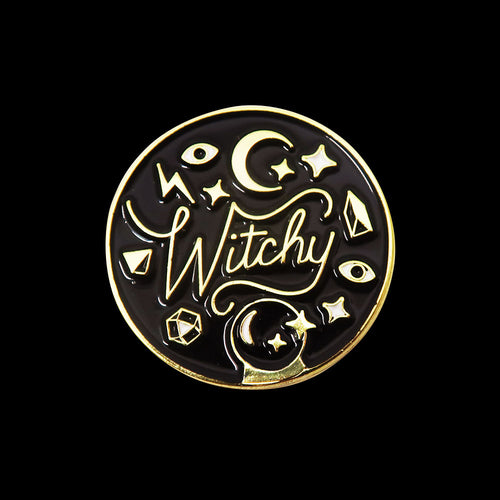 Witchy Pin