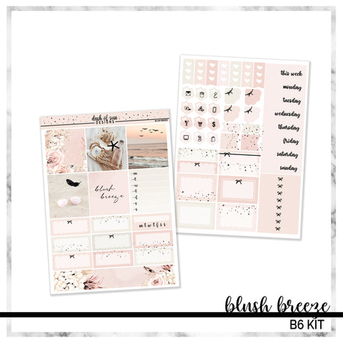 Blush Breeze | Foiled B6 Kit