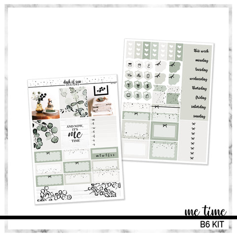 Me Time | Foiled B6 Kit