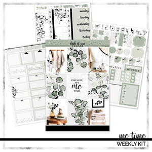 Me Time | Foiled Weekly Kit