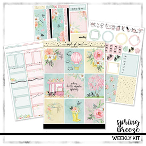 Sweet Blooms | Foiled Weekly Kit