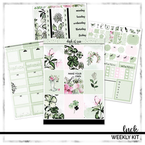 Luck | Foiled Weekly Kit