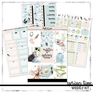 Spring Time | Foiled Weekly Kit