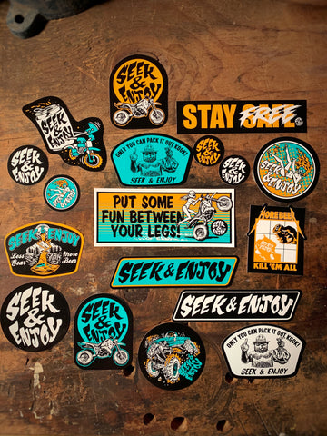 STICKER PARTY PACK III - 18PK