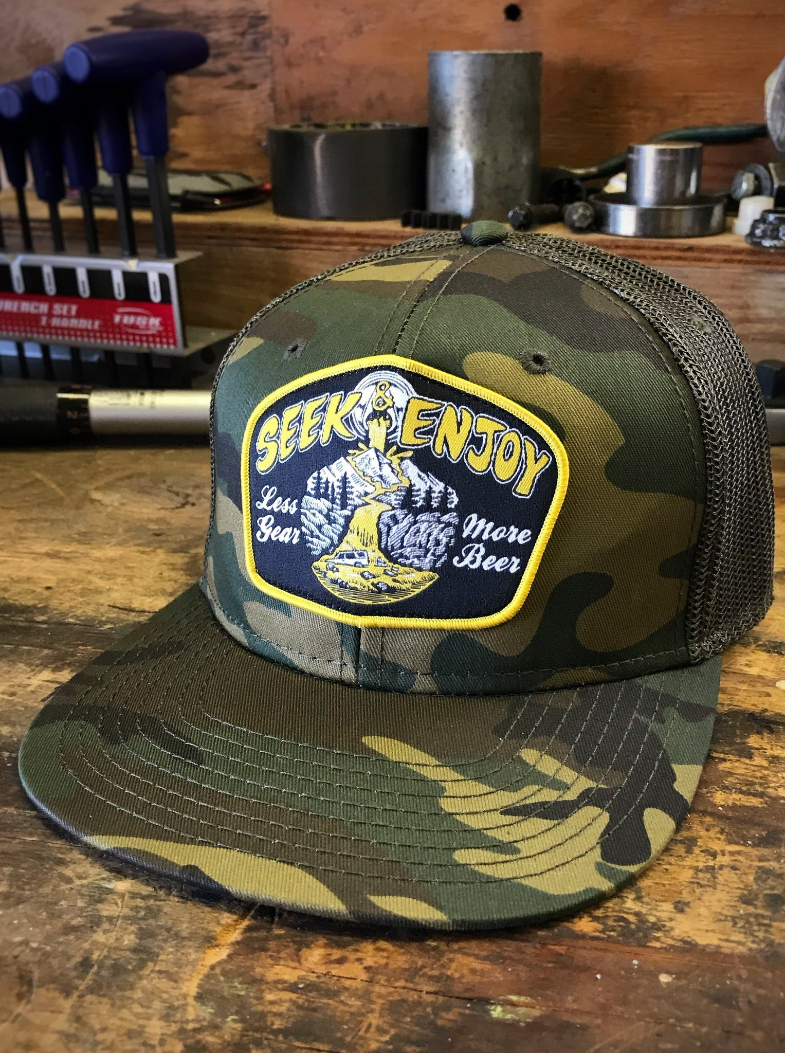 MORE BEER MESH BACK | CAMO