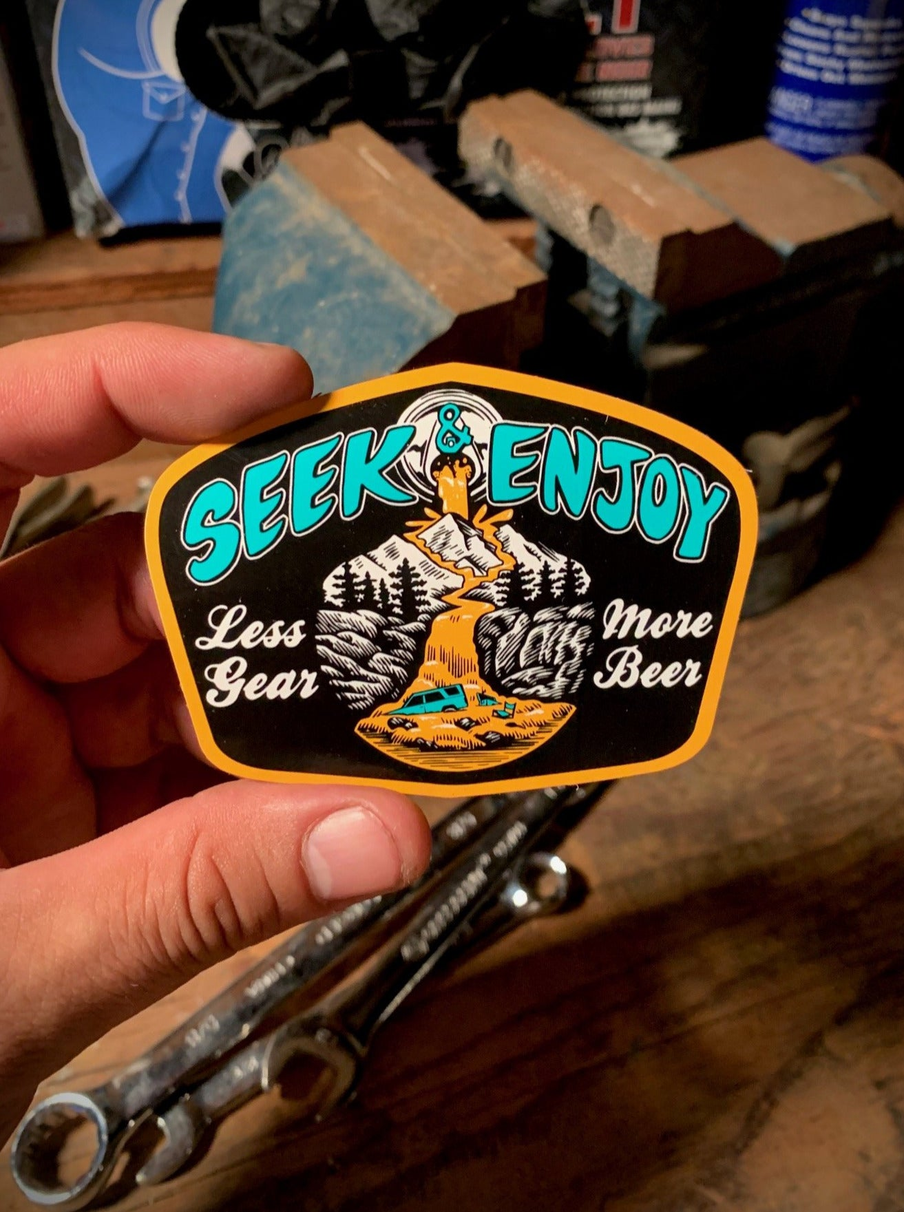 MORE BEER STICKER