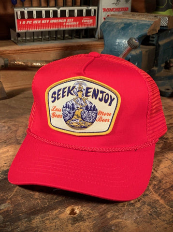 MORE BEER TRUCKER | RED
