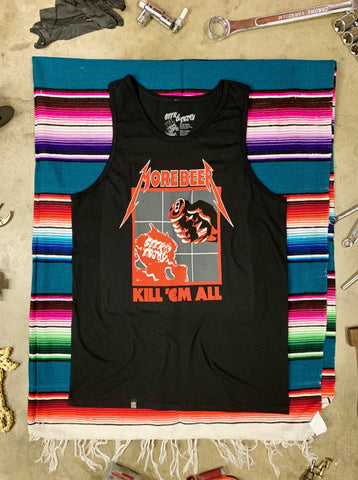 KILL 'EM ALL TANK | BLACK