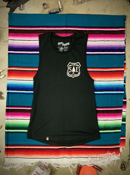 PACK IT OUT WOMENS TANK | BLACK