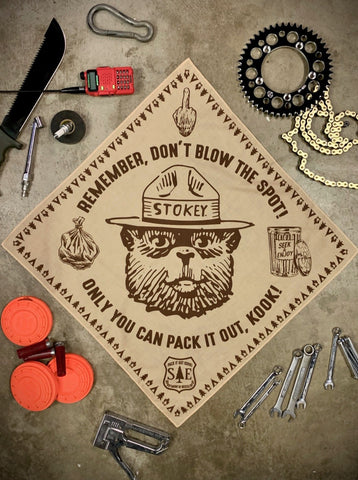 PACK IT OUT BANDANA | SAND