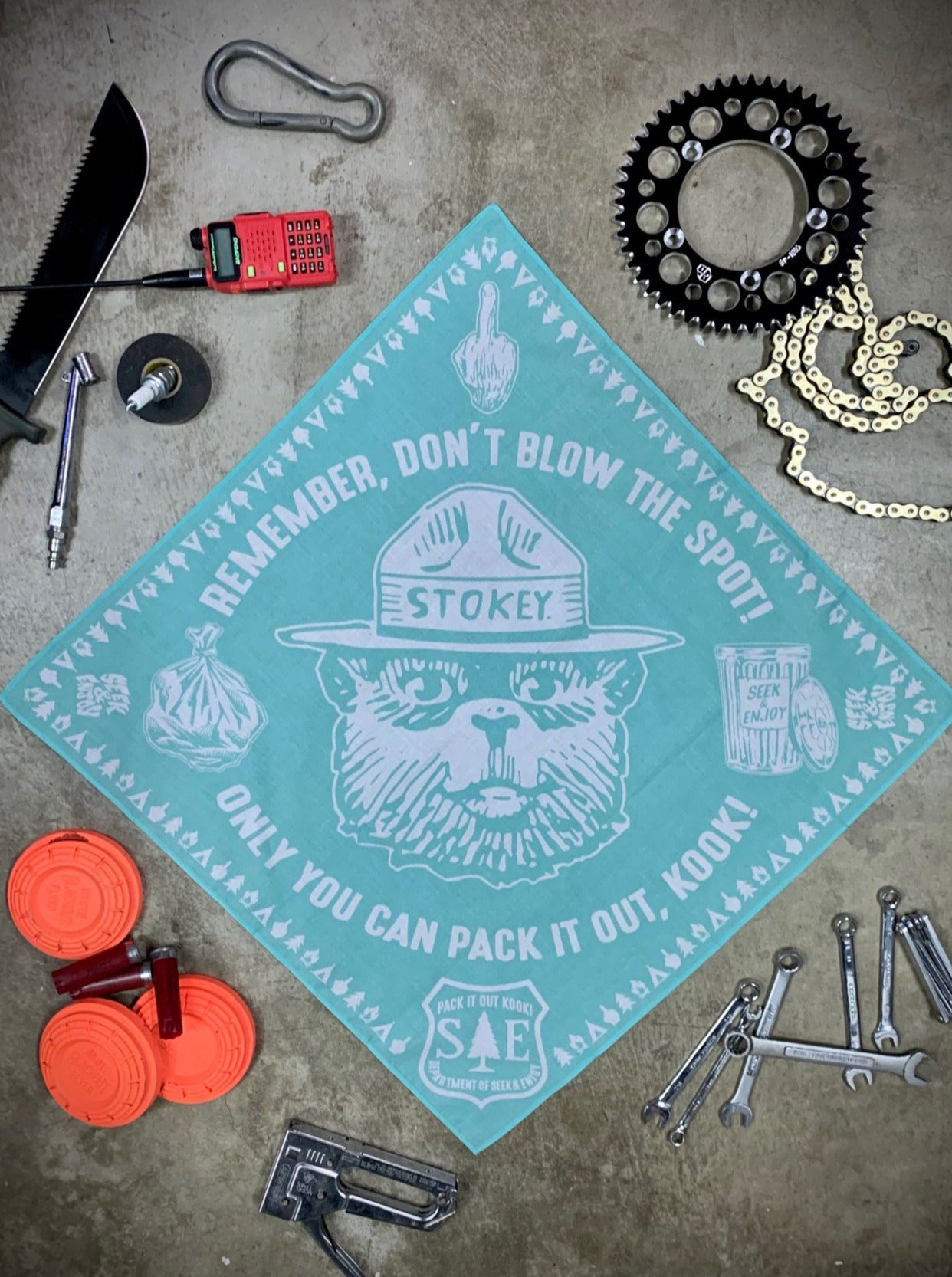 PACK IT OUT BANDANA | MINT