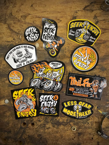 STICKER PARTY PACK II - 11PK