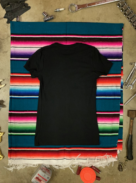 REV LIMITER WOMENS TEE | BLACK